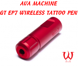 MAQUINA PREMIUM AVA GT EP7 WIRELESS TATTOO PEN - RED