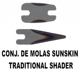Conjunto Mola Sunskin para TRADITIONAL SHADER