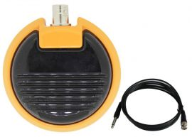 PEDAL DE METAL ROUND - YELLOW